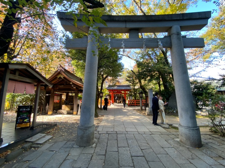 東京エディション虎ノ門「朝食後の散策」:愛宕神社(境内)