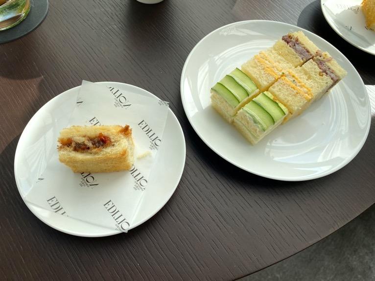 東京エディション虎ノ門「アフタヌーンティー」:サンドイッチ