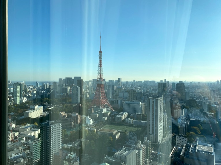 東京エディション虎ノ門「アフタヌーンティー」:眺望