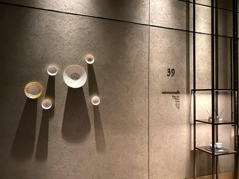 フォーシーズンズホテル東京大手町「スパ」:エントランス