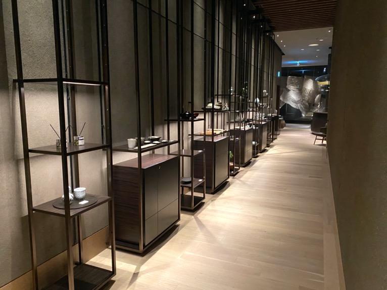 フォーシーズンズホテル東京大手町「スパ」:アプローチ(ホテルグッズ)