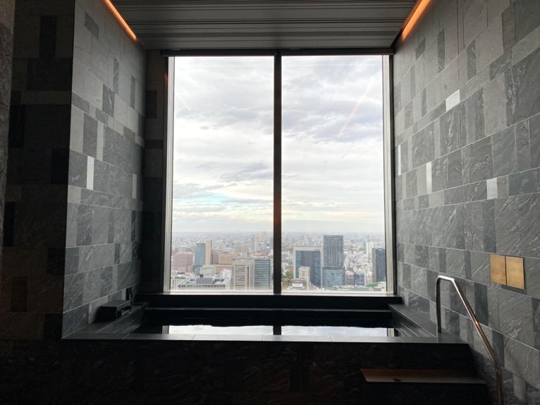 フォーシーズンズホテル東京大手町「温浴施設」:バス(大浴場)
