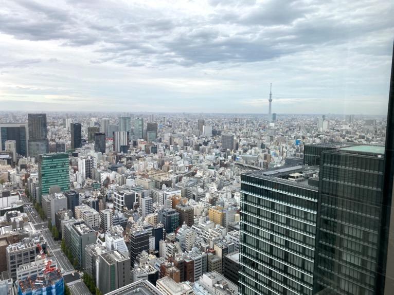 フォーシーズンズホテル東京大手町「温浴施設」:眺望