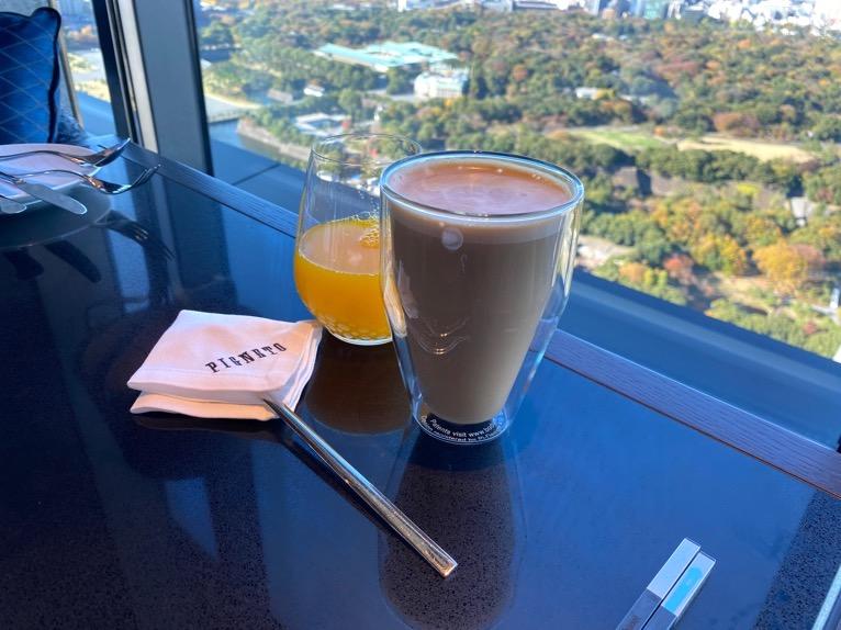 フォーシーズンズホテル東京大手町の朝食をブログレポート!PIGNETO(ピニエート)の洋食と和食のメニューと価格は?