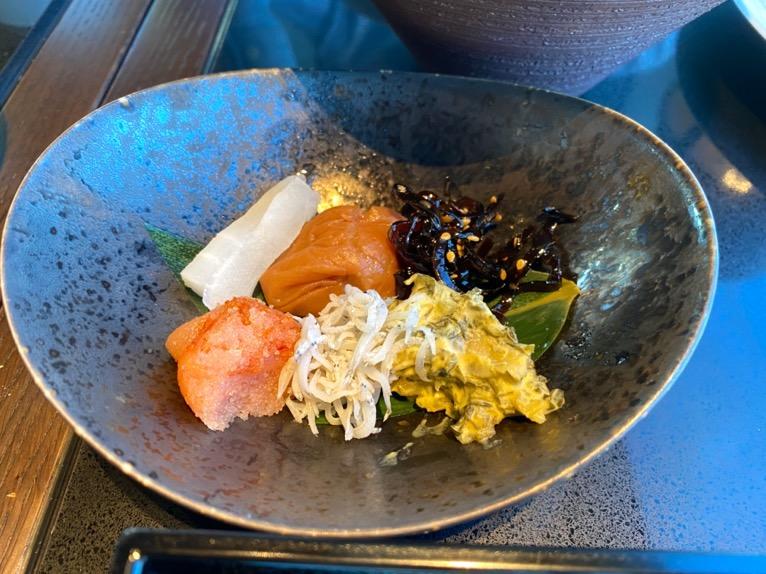 フォーシーズンズホテル東京大手町の朝食:小鉢