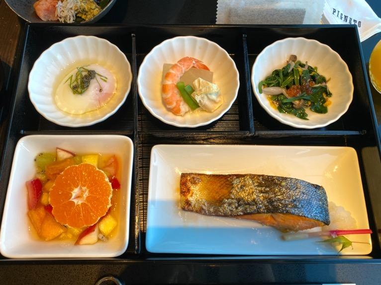 フォーシーズンズホテル東京大手町の朝食:和食