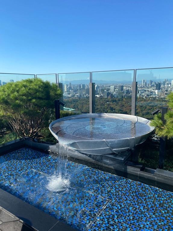 フォーシーズンズホテル東京大手町の朝食:ピニエートのテラス4