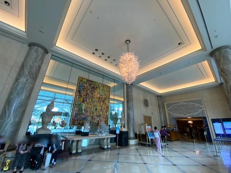 横浜ロイヤルパークホテル「ロビー」:エントランスロビー