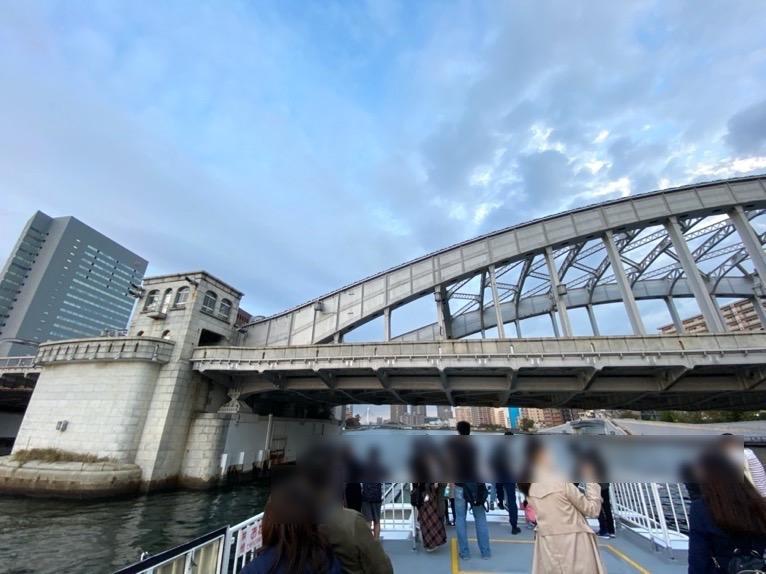 水上バス(定期運行線)を体験レポート:デッキからの眺望2