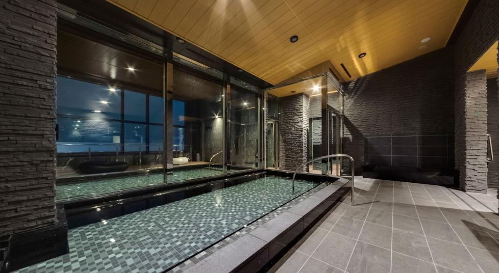 三井ガーデンホテル豊洲ベイサイドクロス宿泊記「大浴場」:内湯&外湯