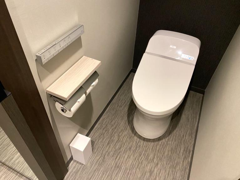 東京ベイ潮見プリンスホテル「客室」:トイレ