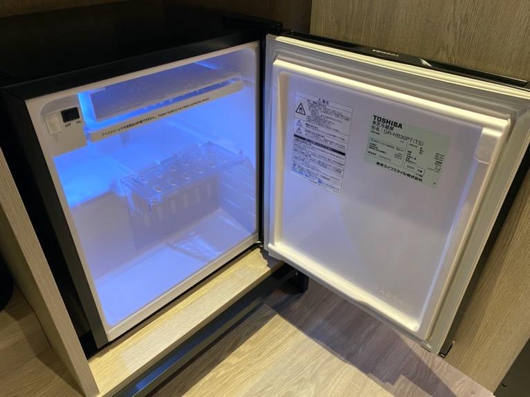 東京ベイ潮見プリンスホテル「客室」:冷蔵庫