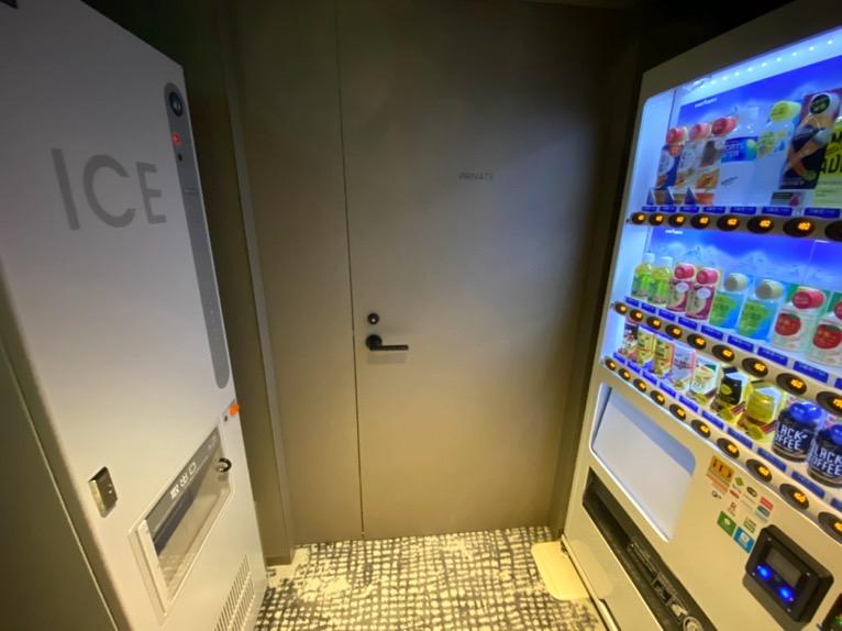 東京ベイ潮見プリンスホテル「自動販売機」:製氷機