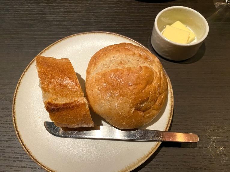 東京ベイ潮見プリンスホテルのディナー:ディナーの内容(パン)