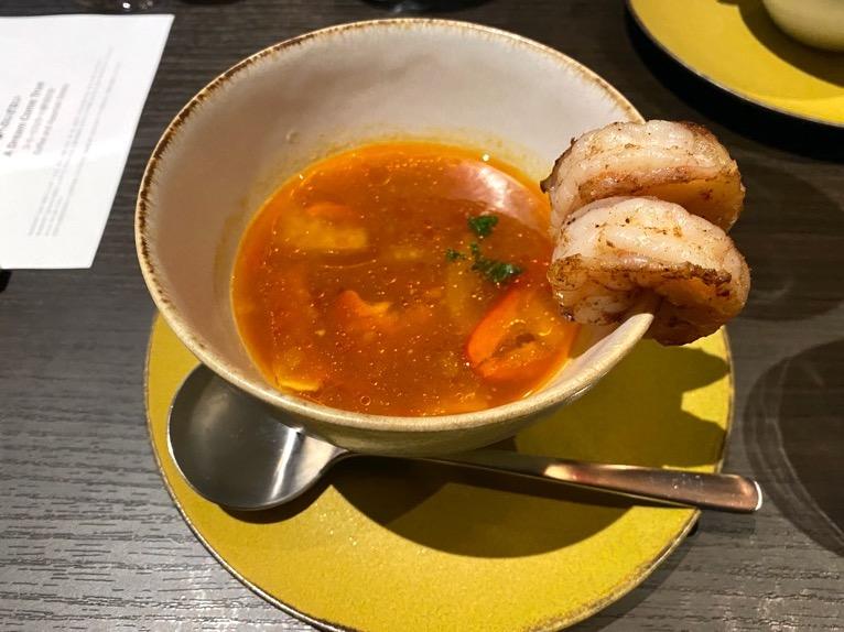 東京ベイ潮見プリンスホテルのディナー:ディナーの内容(スープ)