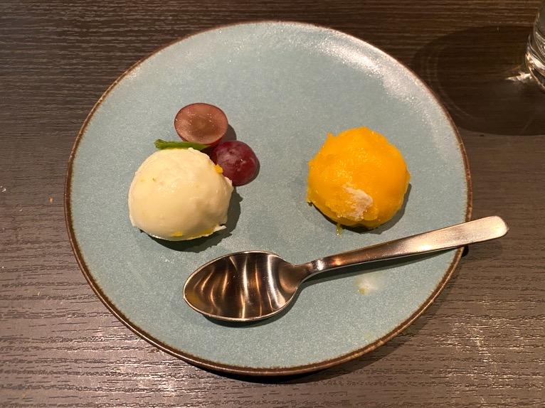 東京ベイ潮見プリンスホテルのディナー:ディナーの内容(デザート)