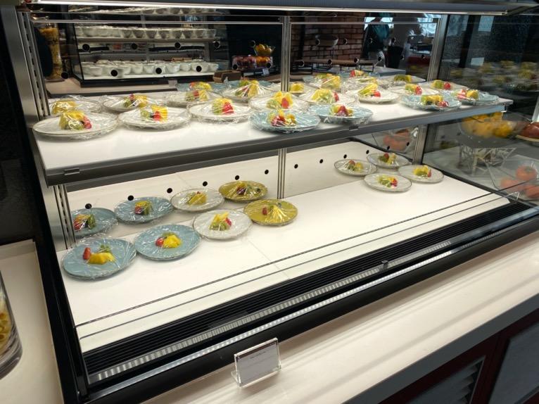 東京ベイ潮見プリンスホテルの朝食:ビュッフェの内容(フルーツ)