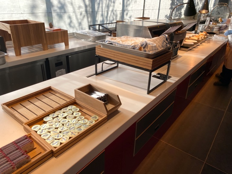 東京ベイ潮見プリンスホテルの朝食:ビュッフェの内容(パン)