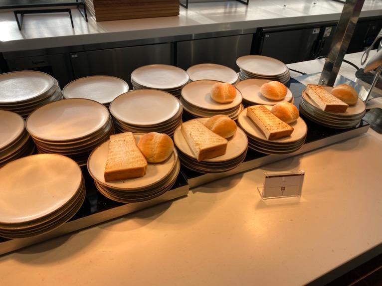 東京ベイ潮見プリンスホテルの朝食:ビュッフェの内容(トースト)