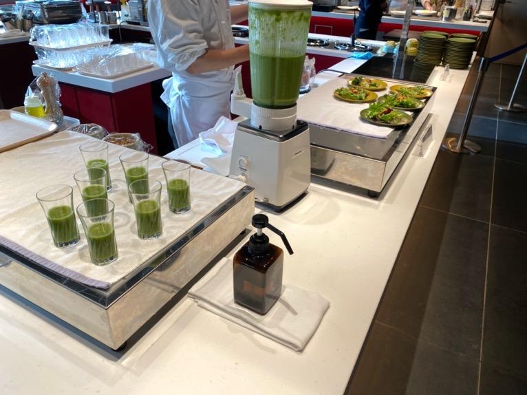 東京ベイ潮見プリンスホテルの朝食:ビュッフェの内容(スムージー )