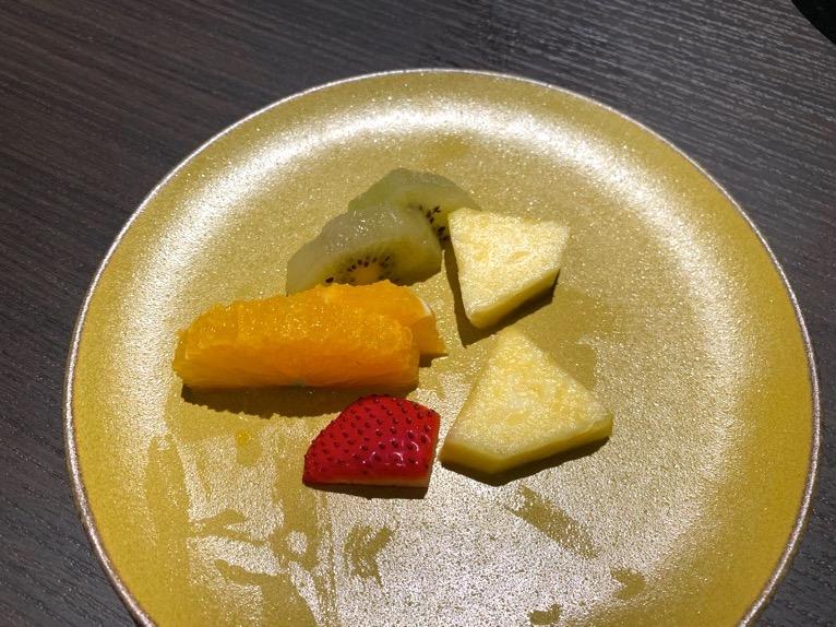 東京ベイ潮見プリンスホテルの朝食:朝食の内容(フルーツ)