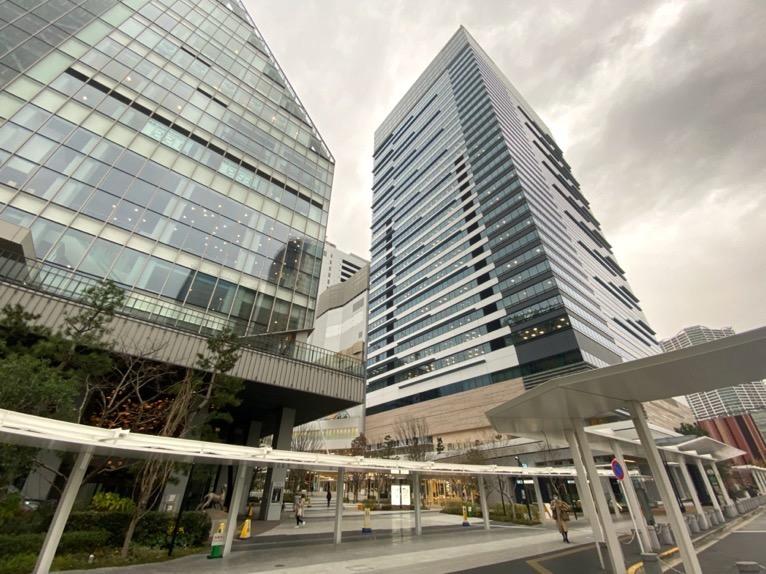 三井ガーデンホテル豊洲ベイサイドクロスの外観