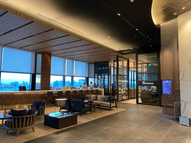 三井ガーデンホテル豊洲ベイサイドクロス宿泊記「ロビー」:バー&レストラン