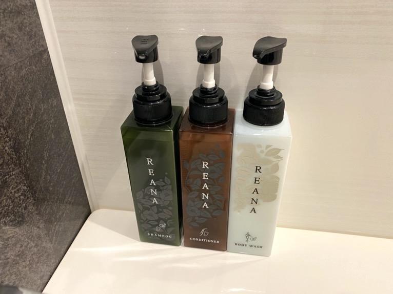 三井ガーデンホテル豊洲ベイサイドクロス宿泊記「客室」:バスアメニティー