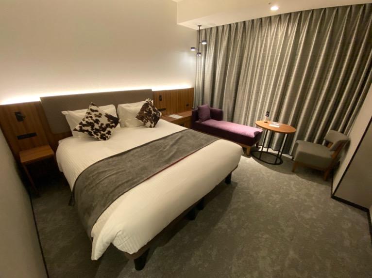 三井ガーデンホテル豊洲ベイサイドクロス宿泊記「客室」:ベッド