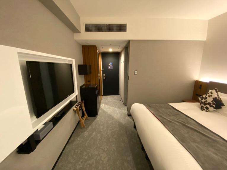 三井ガーデンホテル豊洲ベイサイドクロス宿泊記「客室」:全体像
