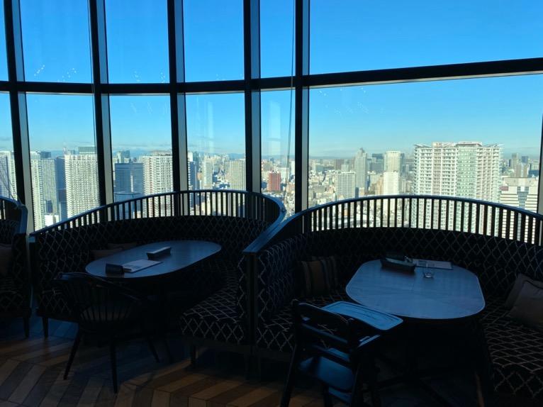 三井ガーデンホテル豊洲ベイサイドクロスの朝食:レストランの内観(ボックス席)