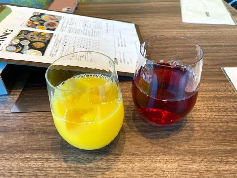 三井ガーデンホテル豊洲ベイサイドクロスの朝食:ドリンク