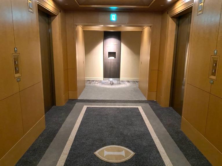 インターコンチネンタル東京ベイ 宿泊記「客室」:内廊下