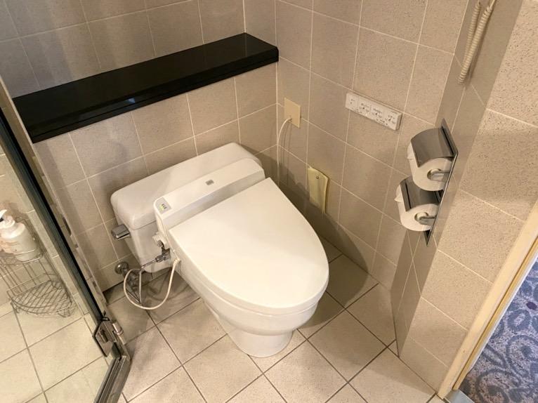 インターコンチネンタル東京ベイ 宿泊記「客室」:トイレ