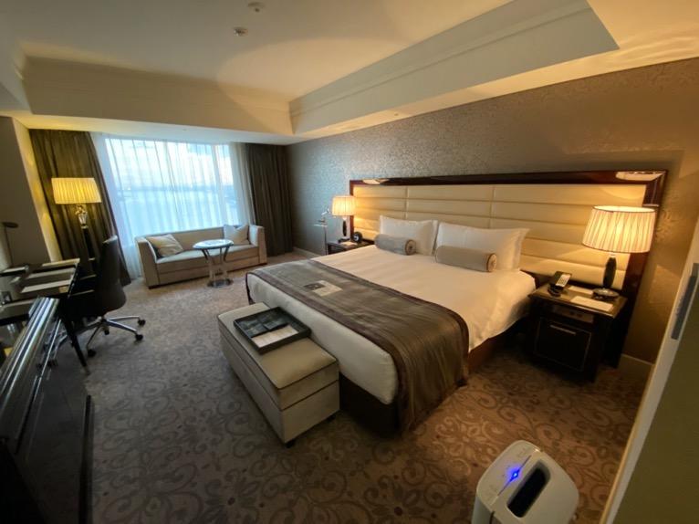 インターコンチネンタル東京ベイ 宿泊記「客室」:寝室