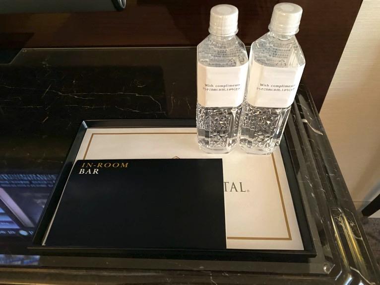 インターコンチネンタル東京ベイ 宿泊記「客室」:水