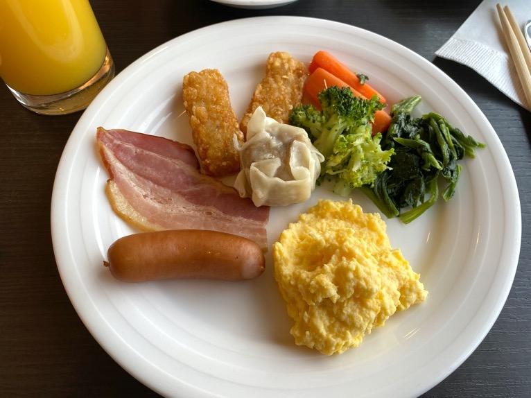 インターコンチネンタル東京ベイのクラブラウンジ:朝食のフード(いただいたもの2)