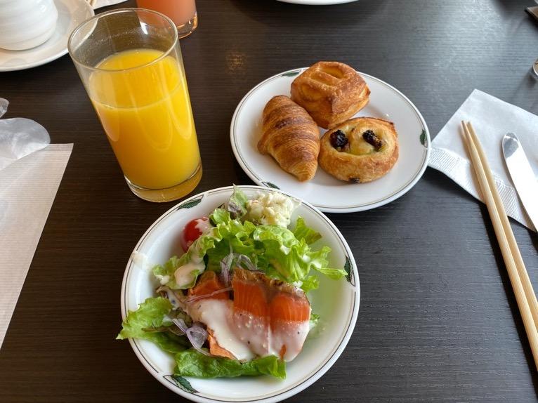 インターコンチネンタル東京ベイのクラブラウンジ:朝食のフード(いただいたもの1)