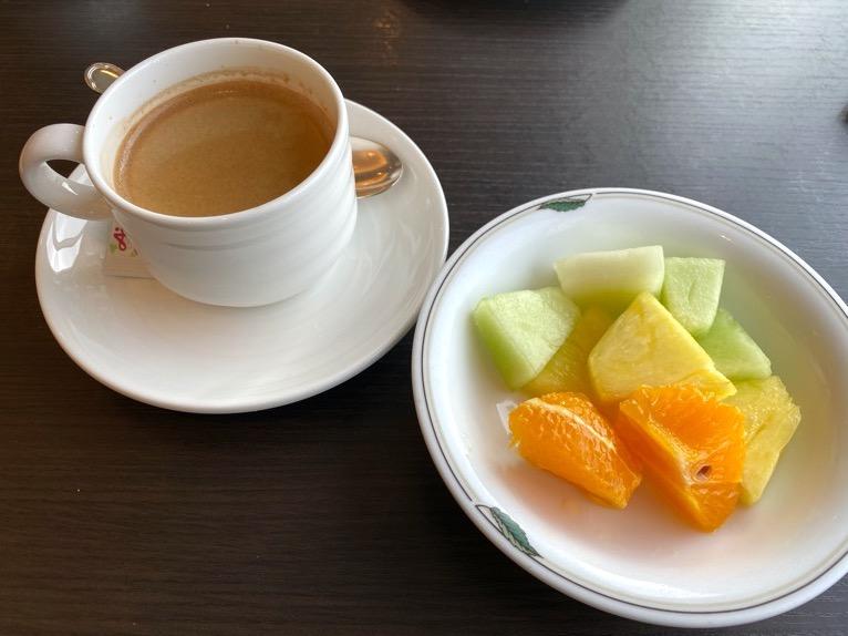 インターコンチネンタル東京ベイのクラブラウンジ:朝食のフード(いただいたもの3)