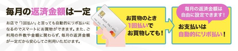 Orico Card The POINT UPty:リボ払い専用クレジットカード