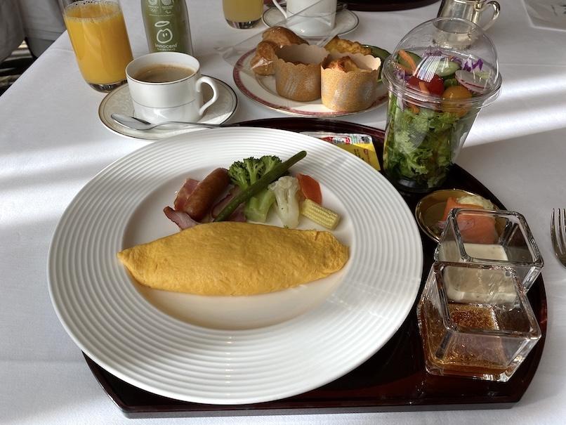 「ウェスティンホテル東京」の朝食