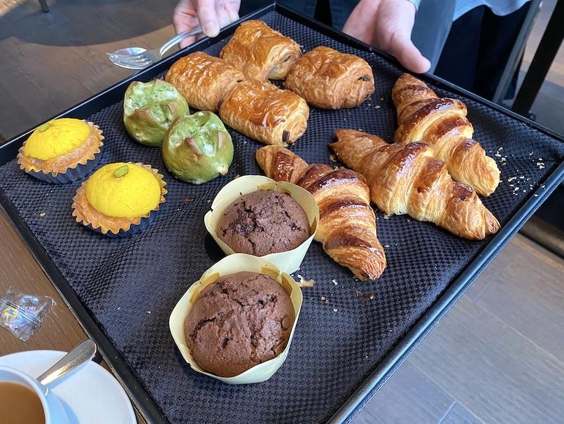 ザ・リッツ・カールトン東京の朝食:ベーカリー(ワゴン)