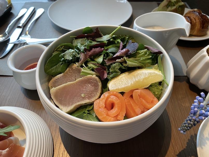 ザ・リッツ・カールトン東京の朝食:前菜(サラダ)