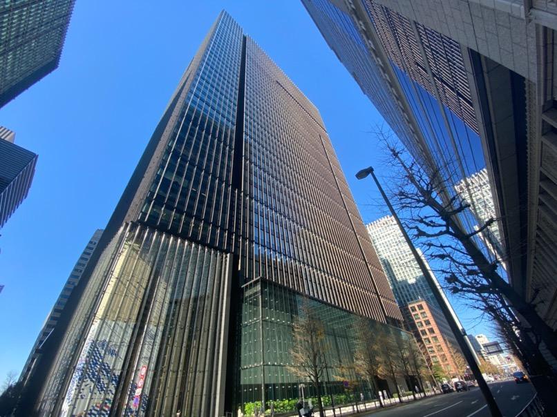 アマン東京のアフタヌーンティー:ホテルの外観