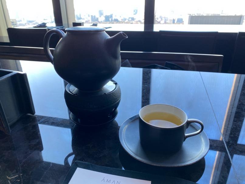 アマン東京のアフタヌーンティー:提供内容(紅茶)