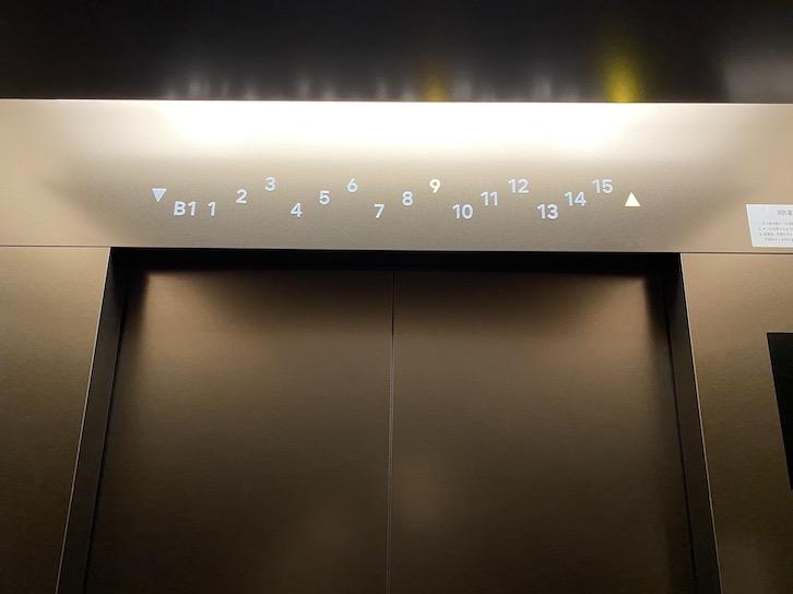HAMACHO HOTEL(浜町ホテル)の内観:エレベーター