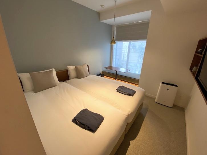 HAMACHO HOTEL(浜町ホテル)の客室:寝室