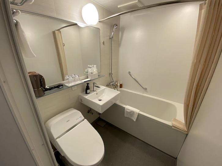 HAMACHO HOTEL(浜町ホテル)の客室:バスルーム