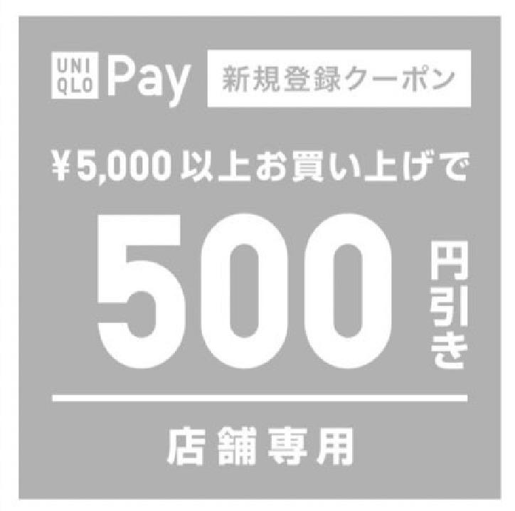 500円分のクーポン(実物)