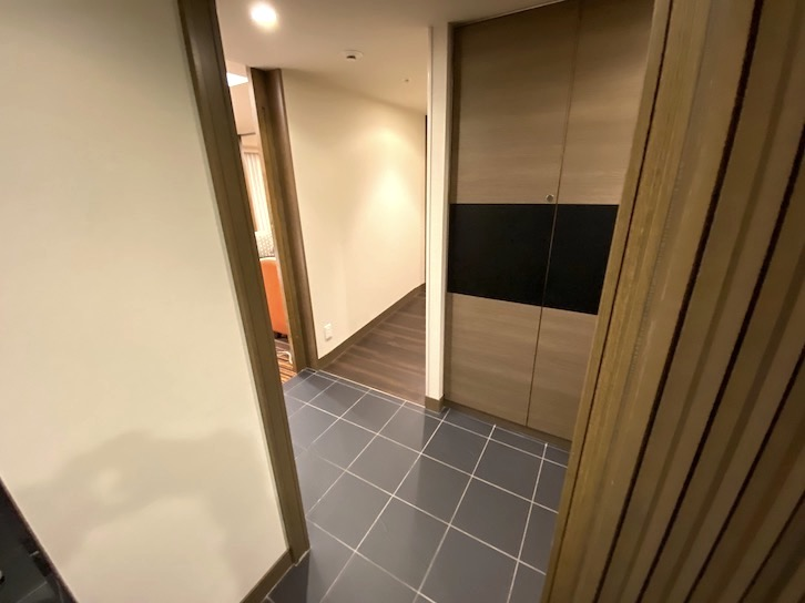 シェラトングランデ東京ベイ「和室スイーツ」:玄関スペース